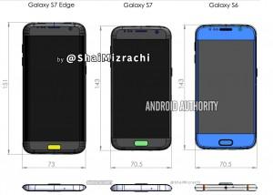 Fuite Design et visuels du Samsung Galaxy S7 et Galaxy S7 Edge