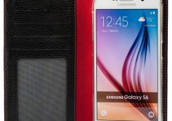 housse exclusive cuir galaxy s6 Issentiel